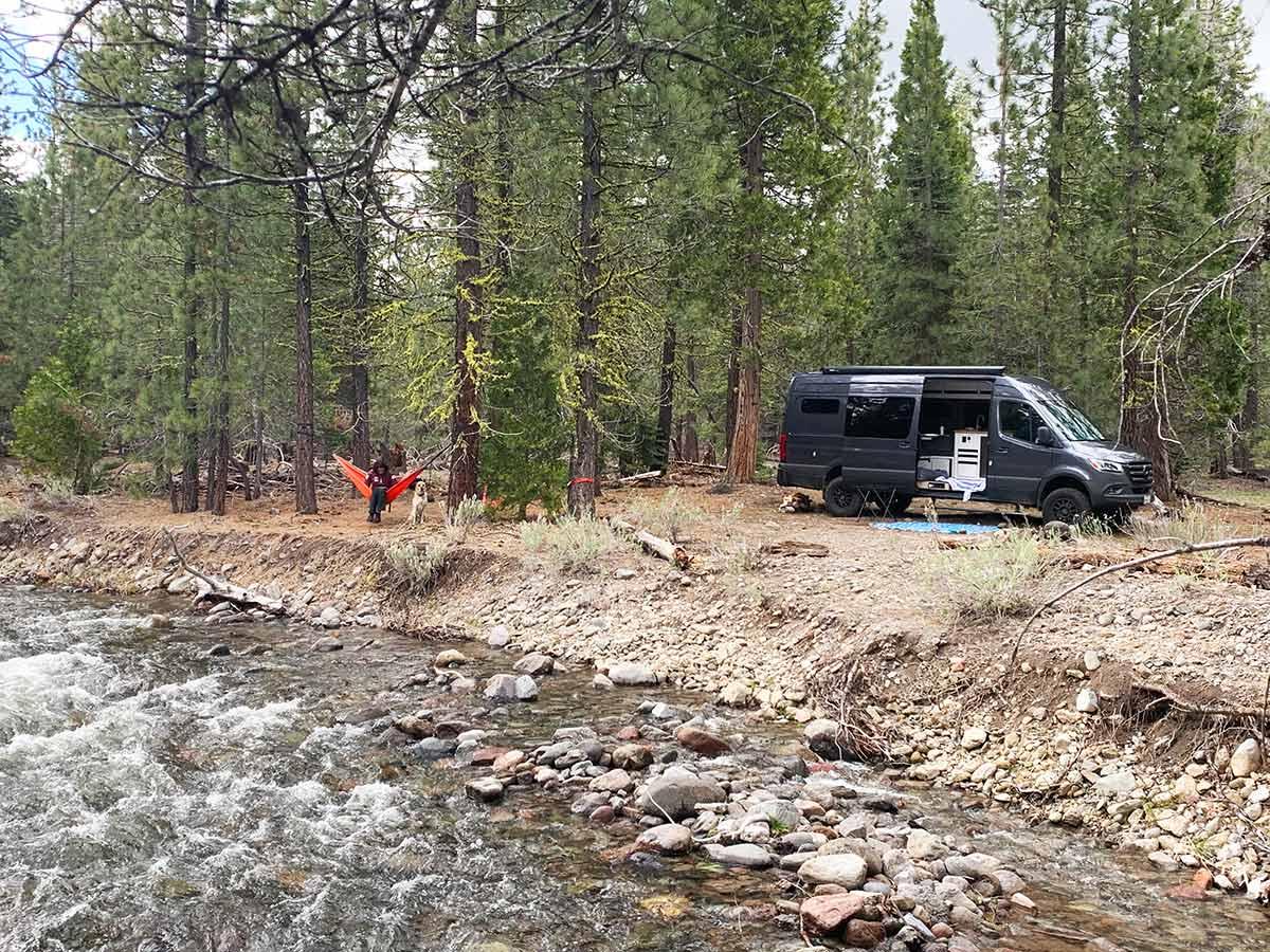 camping near Lassen