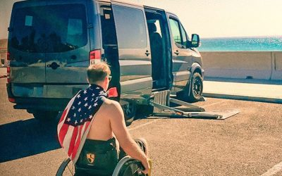TOURIG'S FIRST WHEELCHAIR ACCESSIBLE VAN CONVERSION