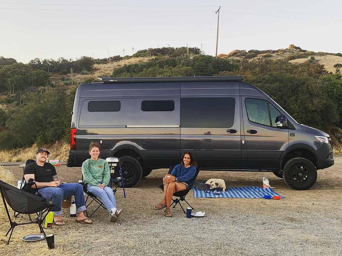 camping near Camino Cielo