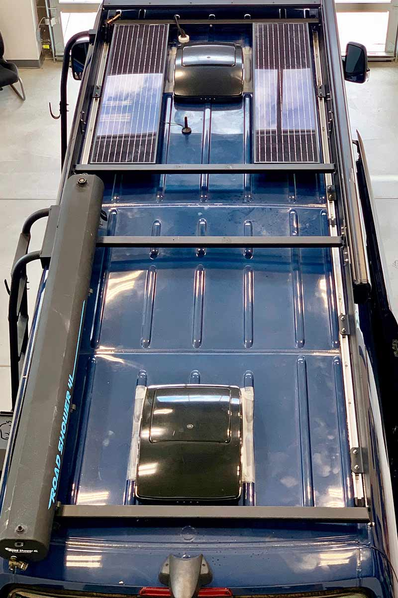 Derby-Sprinter-170-rooftop-with-side-awning-and-solar-panels