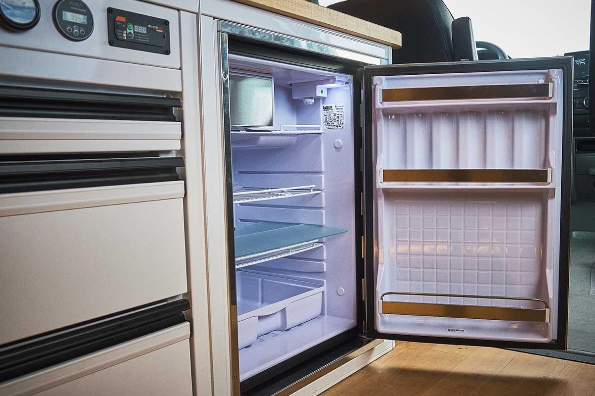 large-stainless-fridge-for-Sprinter-van