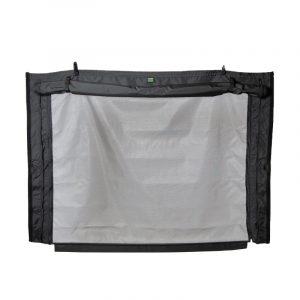 Bunker Upper Bed Screen for Mercedes Benz Sprinter screen zipped.jpg