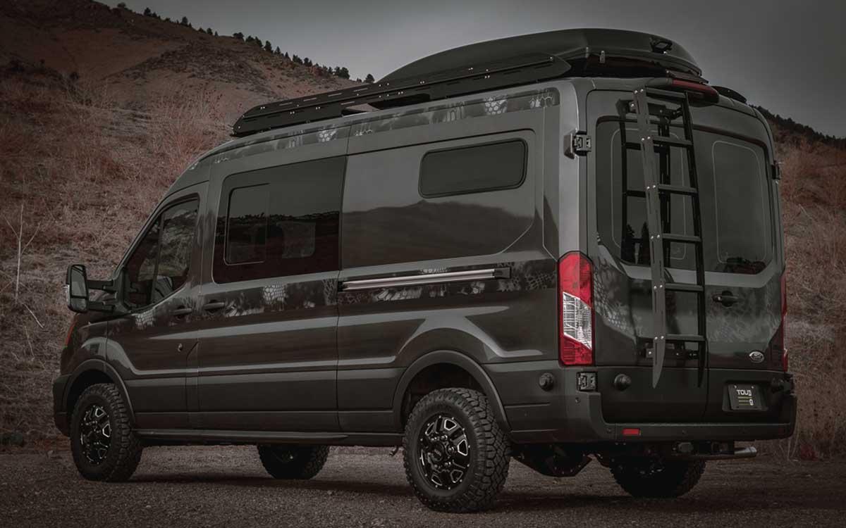 Tourig Ford Transit Camper Van