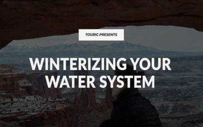 WINTERIZING YOUR SPRINTER OR TRANSIT VAN