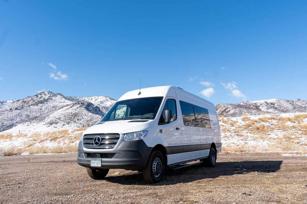 Big Head Todd and the Monsters new Sprinter van built by TOURIG
