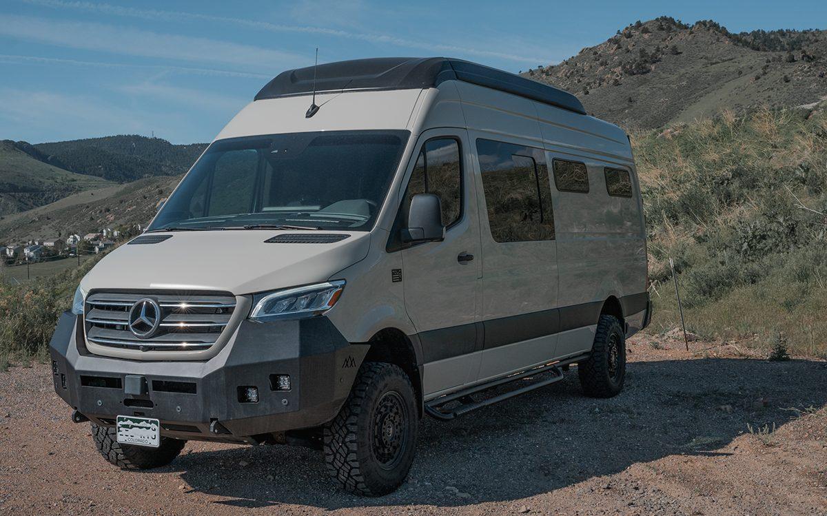 Used Sprinter Van for Sale - 2020 4x4 2500 12