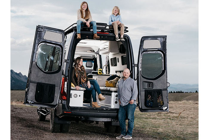 Bloomberg Businessweek article- Trick Out a Van
