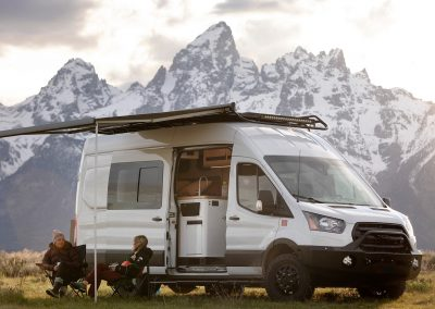 Outside Magazine's TOURIG XAV Sprinter van in the Tetons