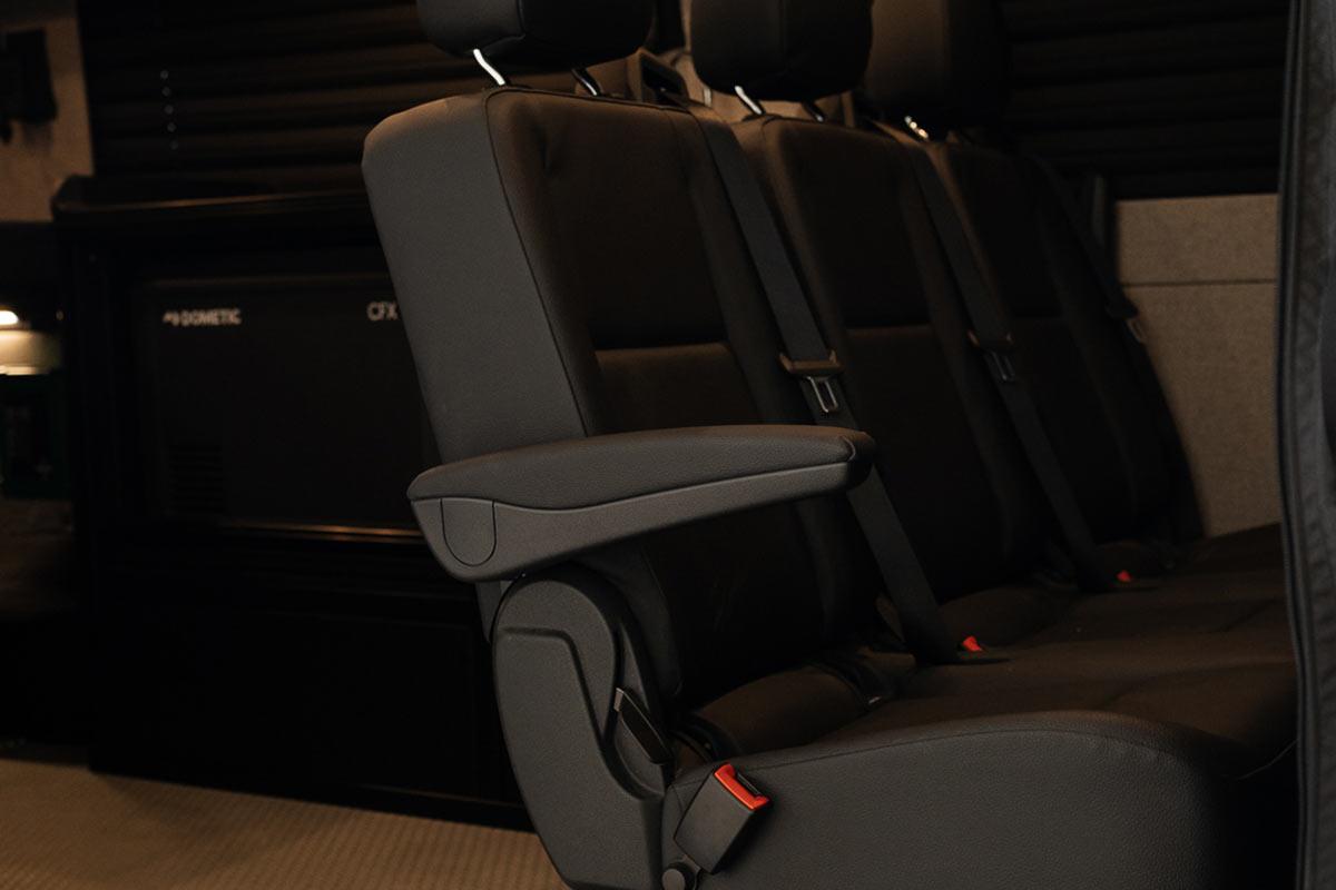 TOURIG XUV van conversion back seats