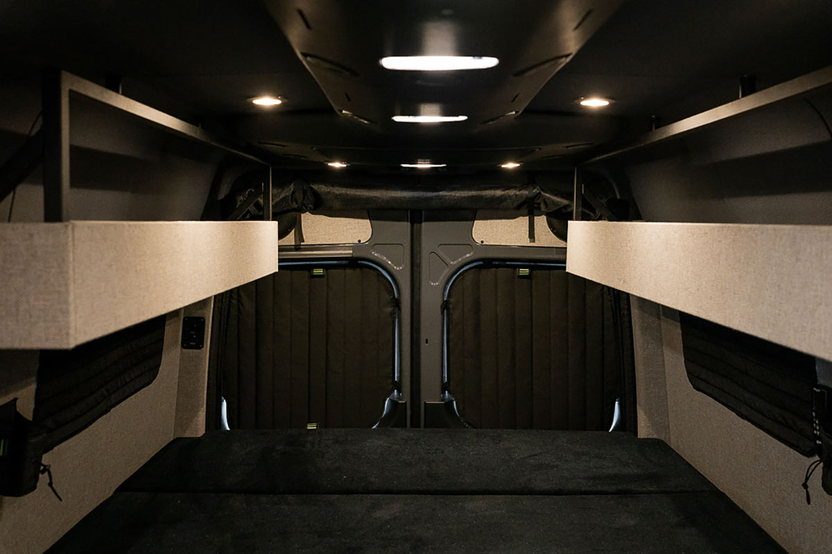 XUV Sprinter van interior by TOURIG