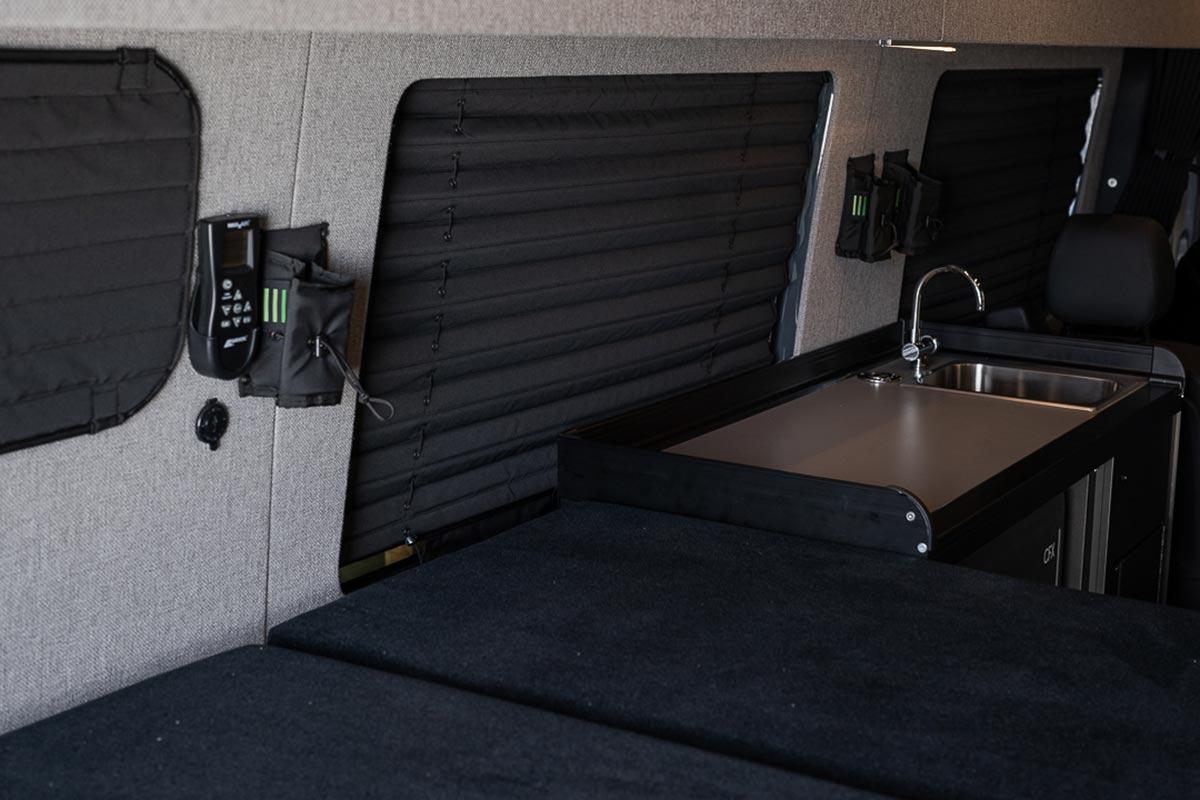 XUV Sprinter van interior conversion by TOURIG