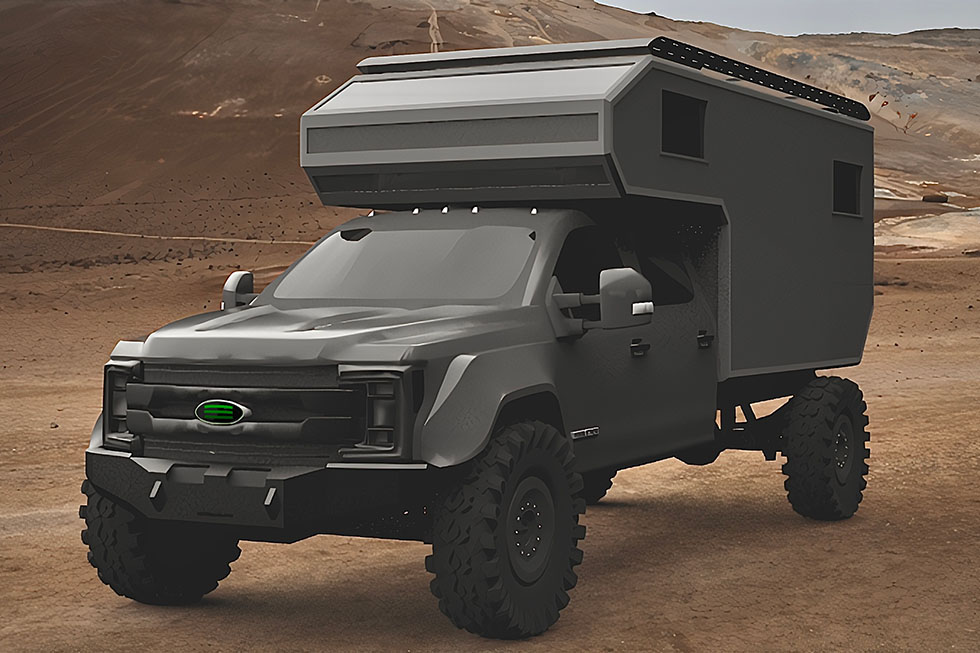 XDV Xtreme Duty Vehicle- side view
